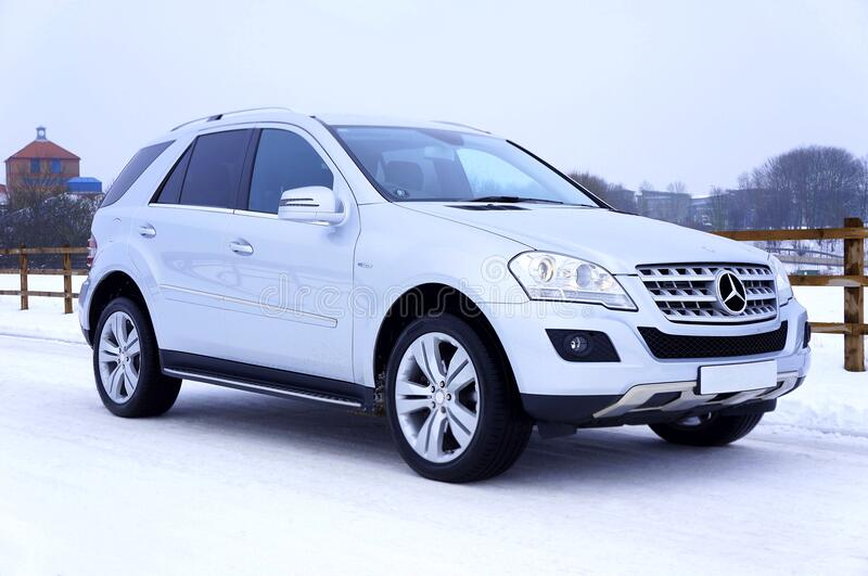 Mercedes Benz SUV royalty free stock photography