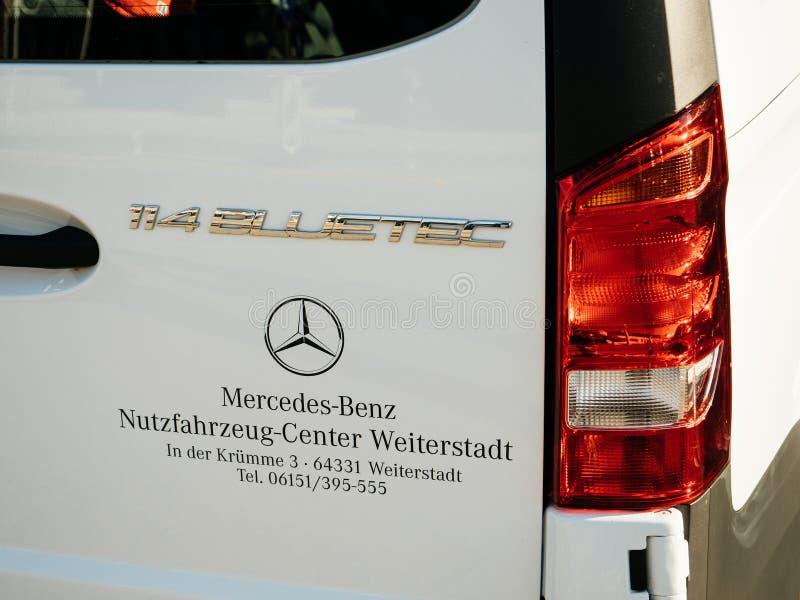 Mercedes-Benz Vito Tourer-Exekutivhandelspackwagen stockbild