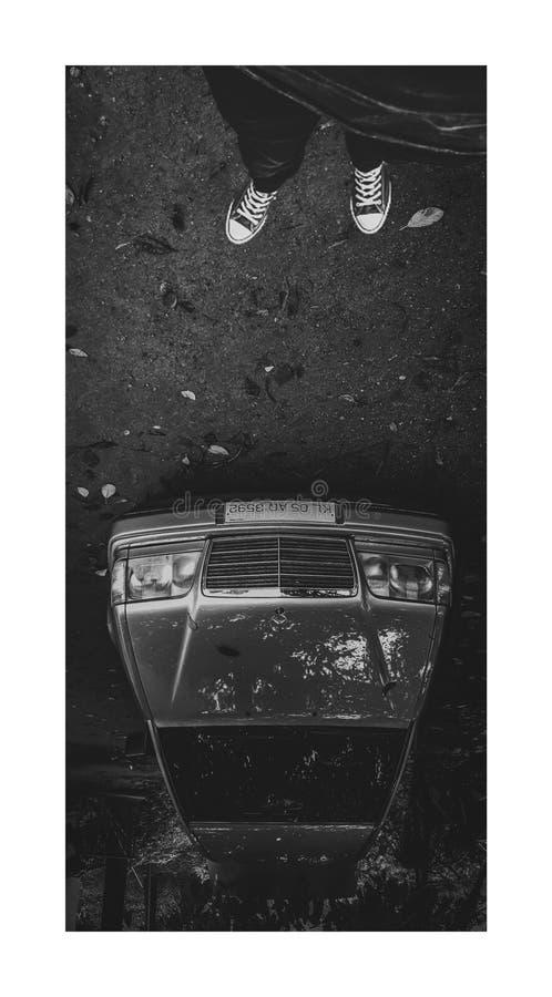Mercedes Benz W123 fotografia stock