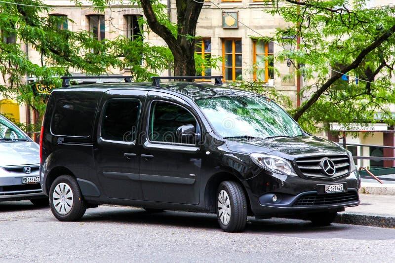 Mercedes-Benz W415 Citan fotografia de stock royalty free