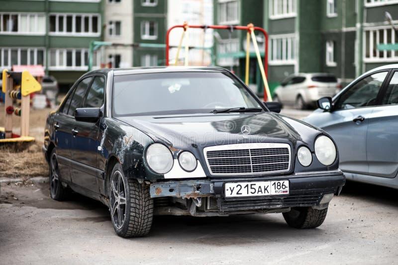 Mercedes-Benz W210 klasa obraz royalty free