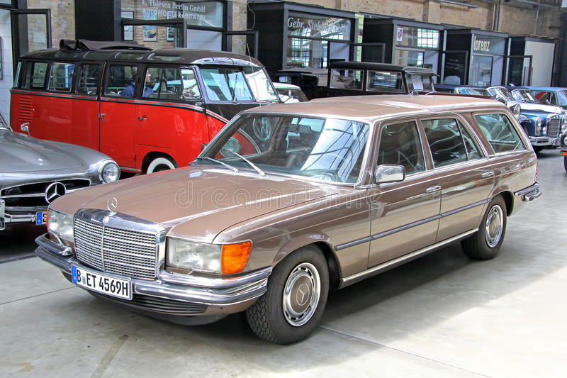 Mercedes Benz Germany History >> Mercedes Benz W116 450sel 6 9 Editorial Stock Image Image Of