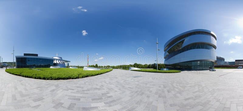 Mercedes-Benz Welt, Stuttgart fotografia stock libera da diritti