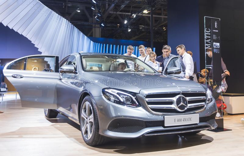 Mercedes cars royalty free stock image