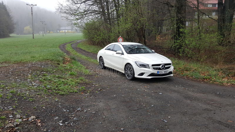 Mercedes CLA lizenzfreie stockbilder