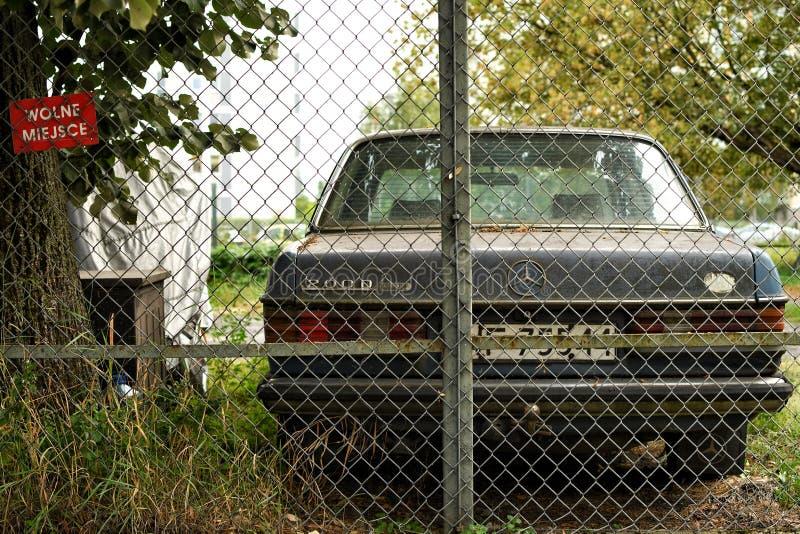 Mercedes classica fotografie stock libere da diritti