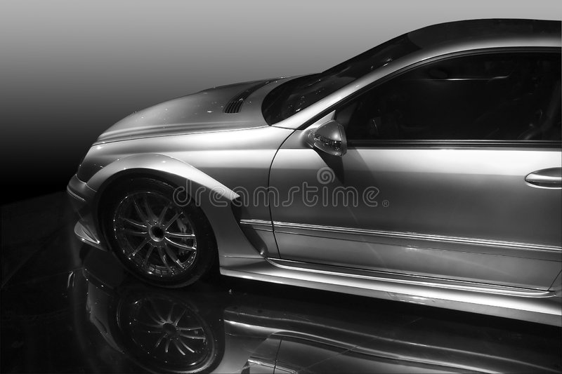 Mercedes DTM foto de stock