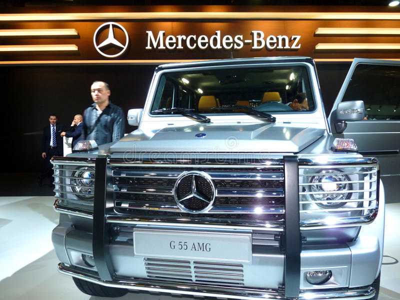 Mercedes G 55 AMG royalty free stock images