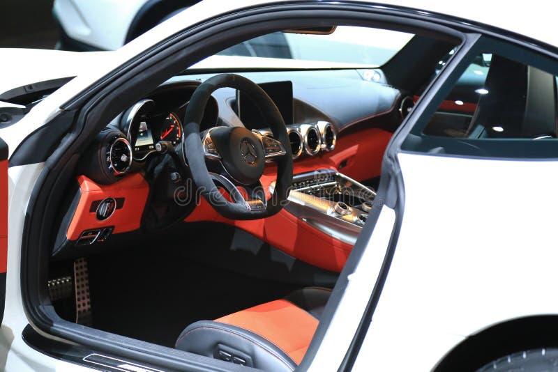 Mercedes GT en el salón del automóvil de Detroit fotografía de archivo libre de regalías