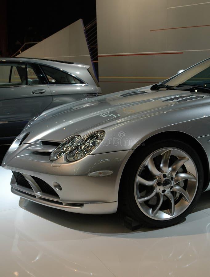 Mercedes-Haube stockfotos