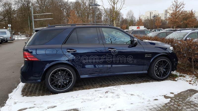 Mercedes ML63 AMG image stock