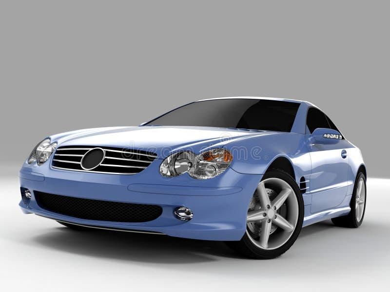 Mercedes SL 500 ilustração royalty free