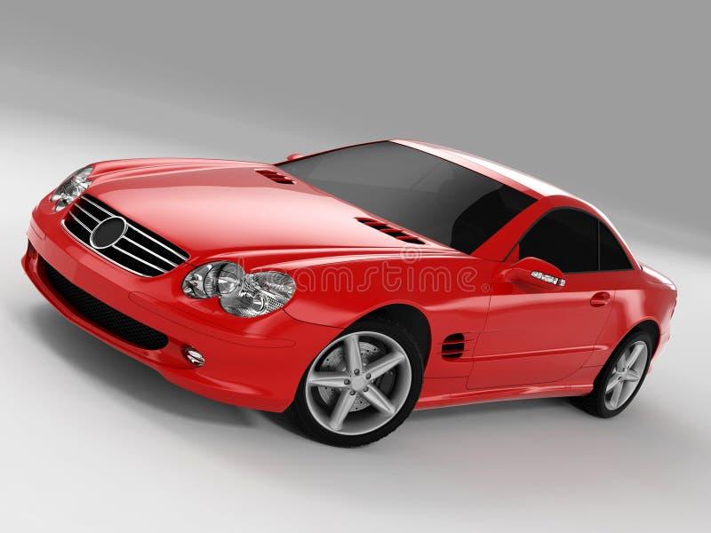 Mercedes SL 500 royalty free stock photos