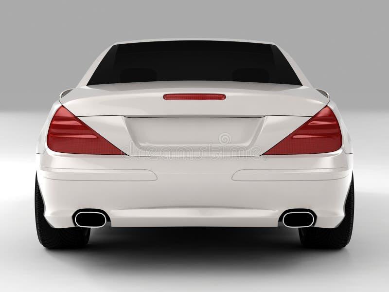 Mercedes SL 500 stock illustration