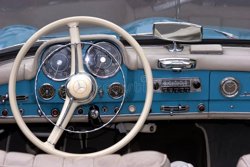 Mercedes 190 SL - alter Timer stockbilder