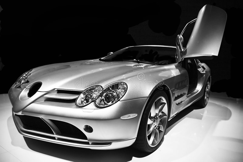 Mercedes SLR fotos de stock
