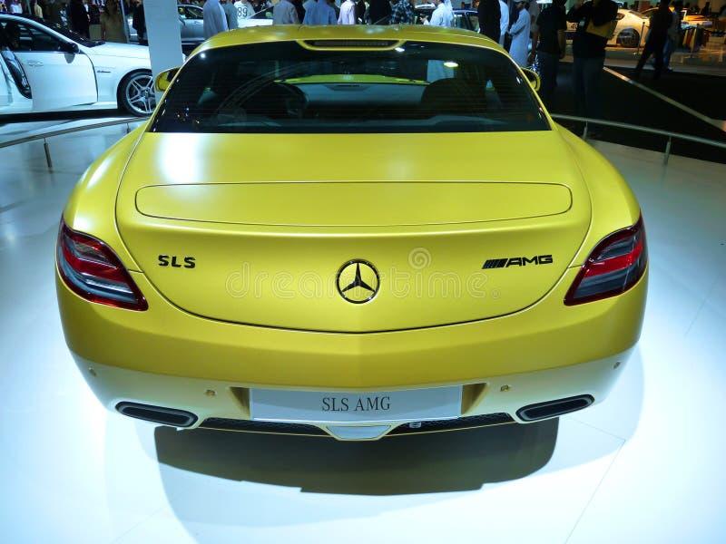 Mercedes SLS AMG stock images
