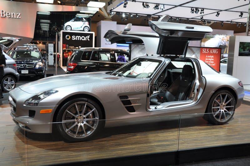 Download Mercedes SLS AMG editorial stock image. Image of cabriolet - 20729809