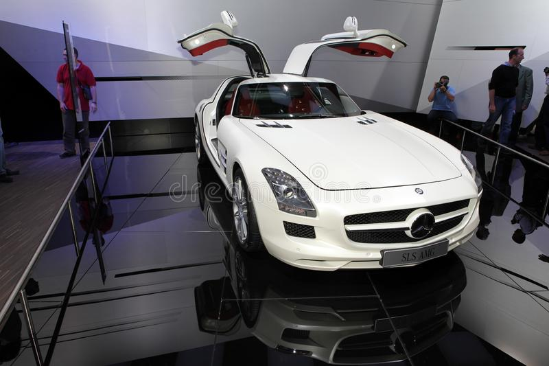 Download The Mercedes SLS AMG Supercar Editorial Photography - Image: 16502932