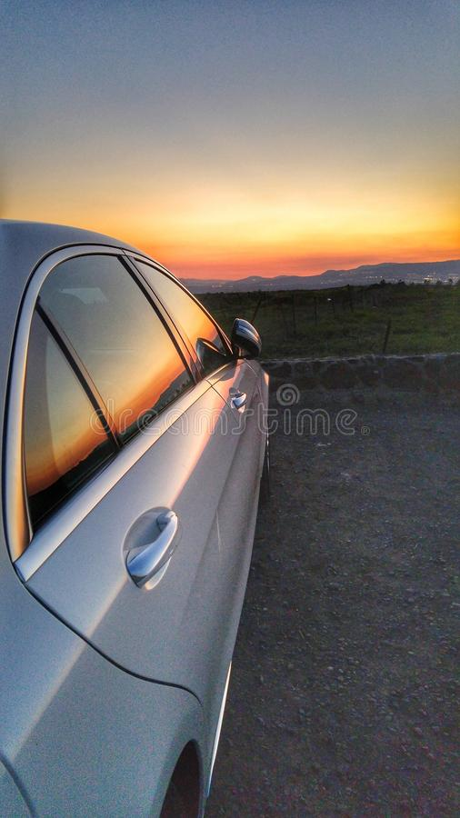 Mercedes royalty free stock photography