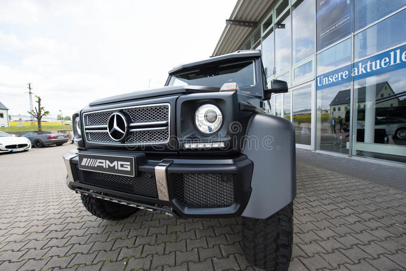 Mercedez Benz klasa, AMG obrazy stock