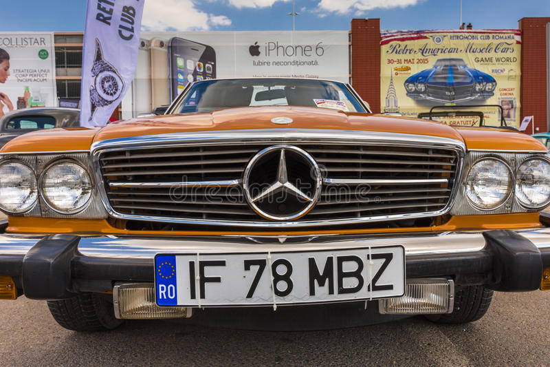 Mercedez Benz 450SL fotografia stock