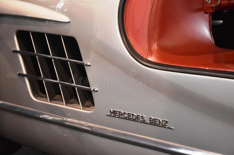 Mercedez, Benz, 300 SL, Gullwing, 1954, fotografia stock