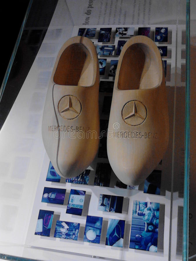 Mercedez buty zdjęcie royalty free