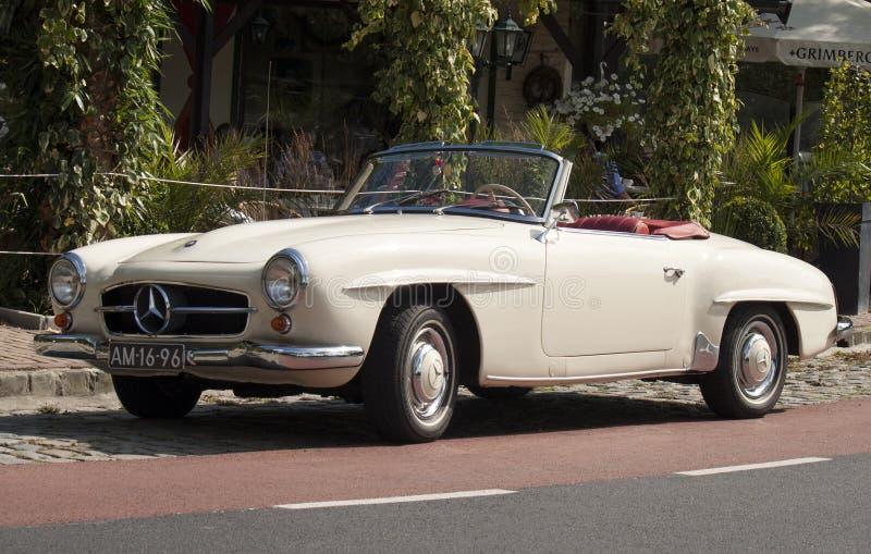 Mercedez samochód obrazy royalty free