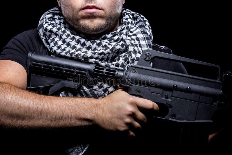 Mercenaire militaire privé d'entrepreneur photos libres de droits
