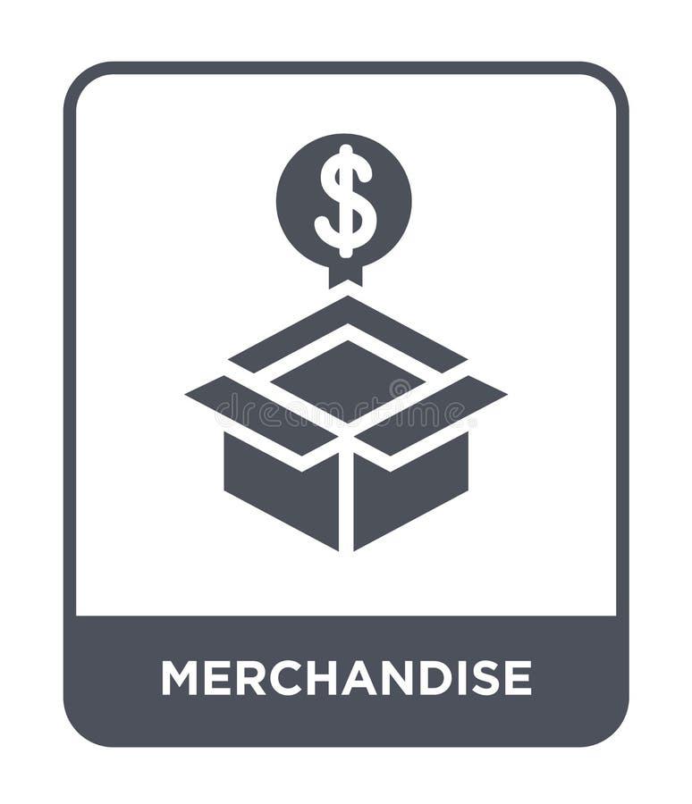 merchandise ikona w modnym projekta stylu merchandise ikona odizolowywająca na białym tle merchandise wektorowa ikona prosta i no ilustracji