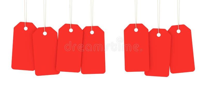 Merchandise Tags Stock Photos