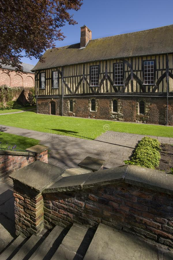 The Merchant Adventurers Guild Hall in York - England royalty free stock photography