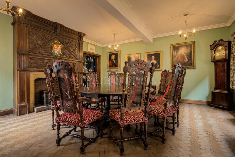 The Merchant Adventurers Hall Governors Parlour Room royalty free stock photography