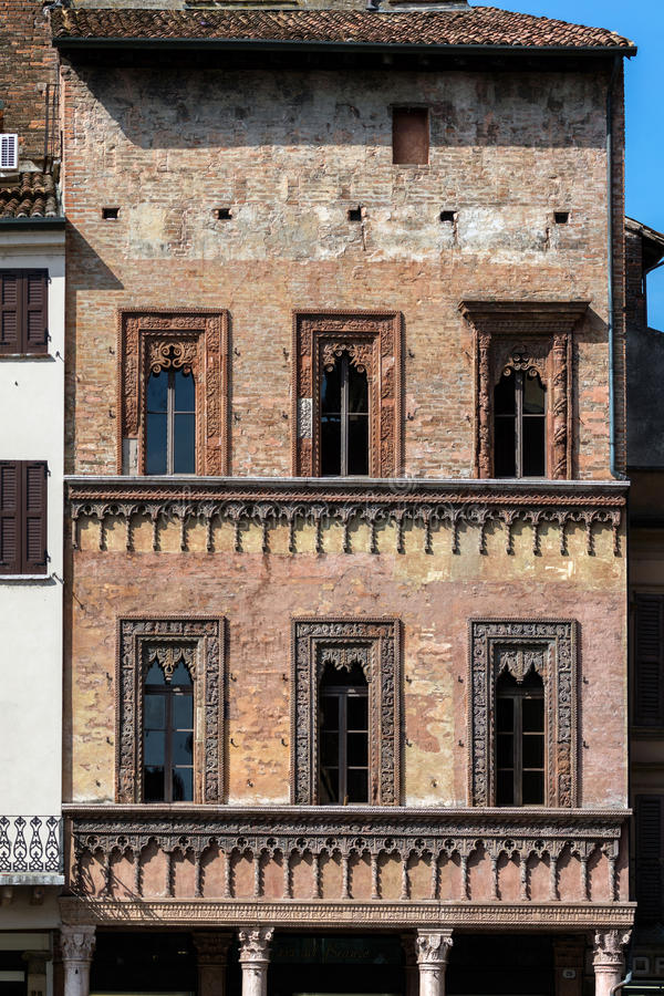 Download Merchant House In Mantua Italy Stock Image