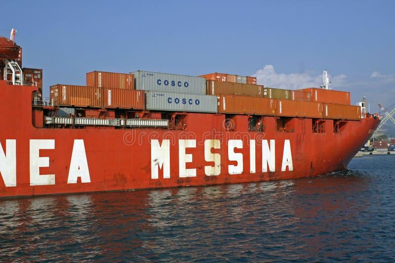 Download Merchant Ship Messina Editorial Stock Photo - Image: 11494833