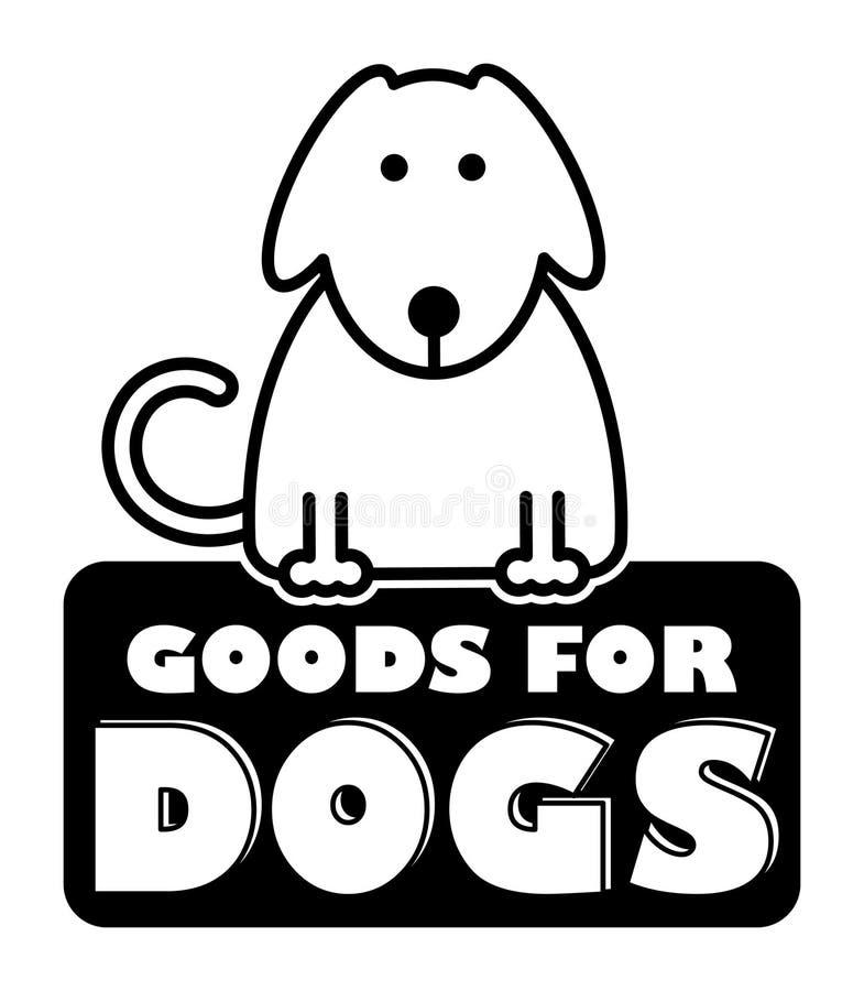 Merci per i cani illustrazione vettoriale