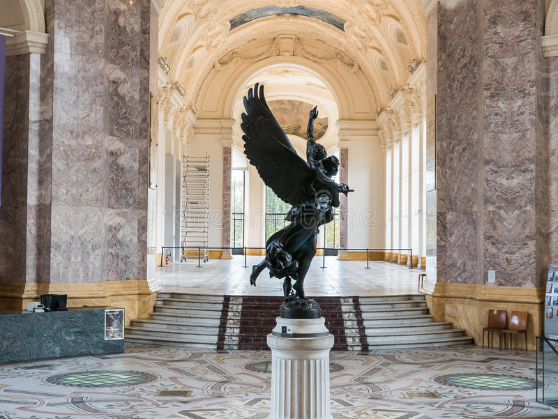 Mercier, victis de Gloria, Petit Palais, París fotos de archivo