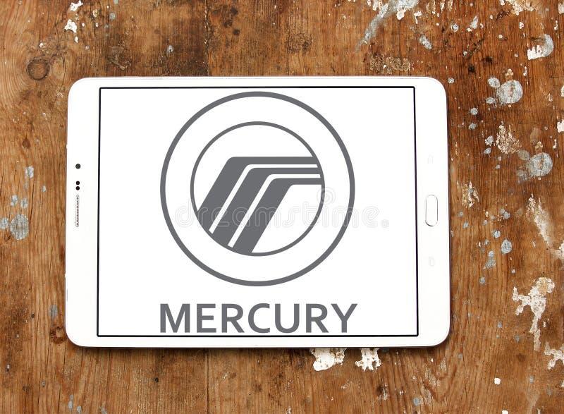 Mercury-autoembleem stock afbeelding