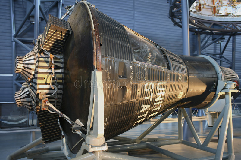 Download Mercury Capsule 15B Friendship 7II Editorial Stock Photo - Image: 9254013