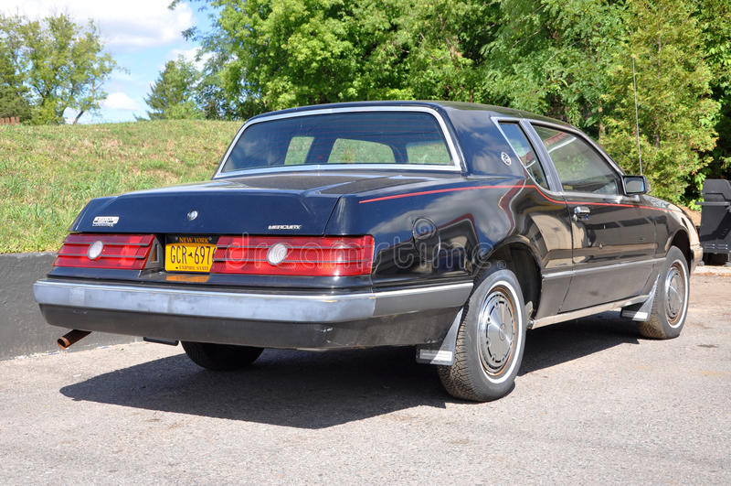 1983 Mercury Cougar royalty-vrije stock afbeeldingen