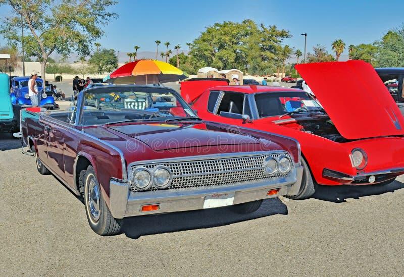 Mercury Lincoln Continental Convertible stock fotografie
