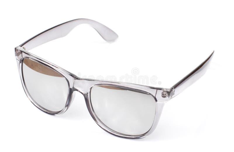 Mercury Sunglasses en el fondo blanco imágenes de archivo libres de regalías