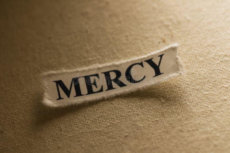 Mercy stock photography