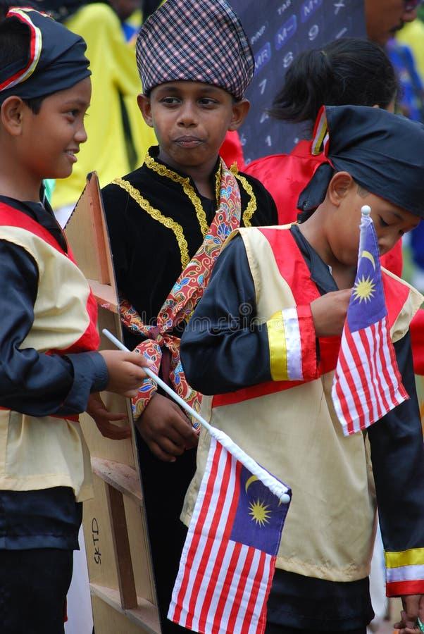 Merdeka Parade 2008 stock images