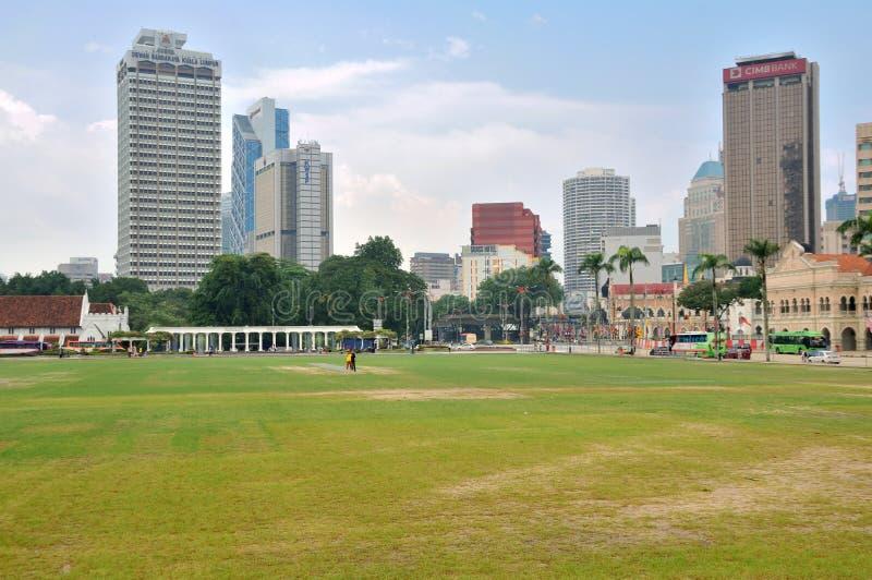 Merdeka Square, Kuala Lumpur. Kuala Lumpur is the federal capital and most populous city in Malaysia stock image