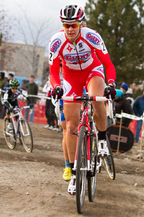 Download Meredith Miller - Pro Woman Cyclocross Racer Editorial Photo - Image: 22419936