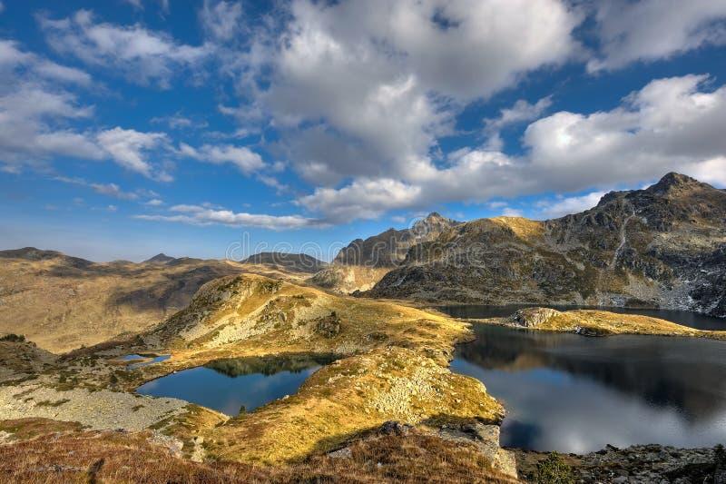 Meren de Franse Pyreneeën royalty-vrije stock afbeeldingen