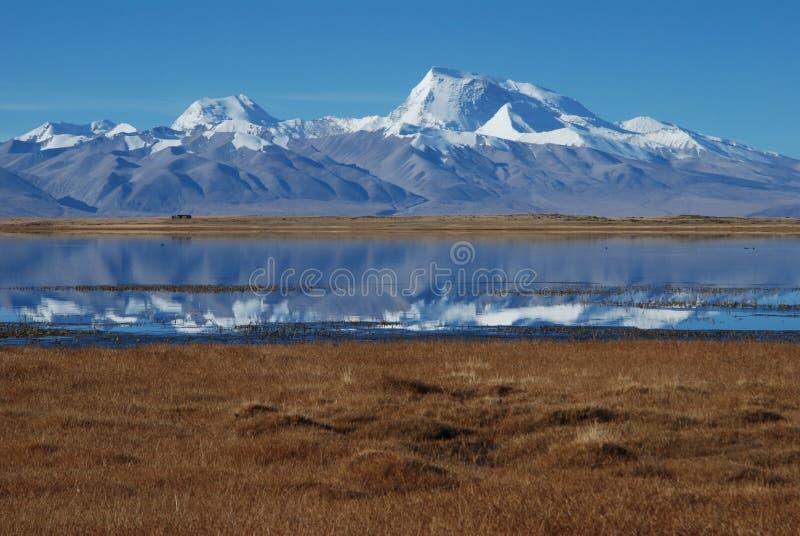 Meren in Tibet stock fotografie