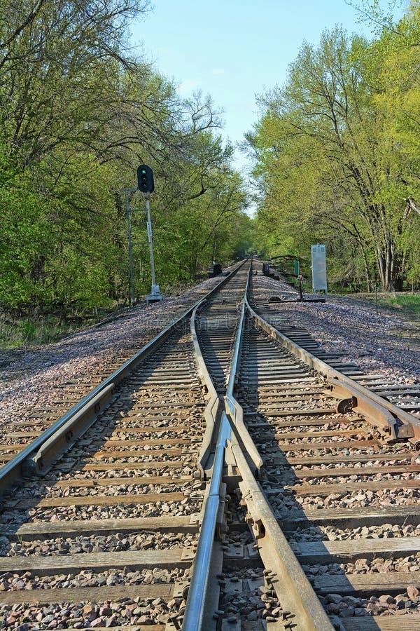 Free Merging Tracks 3 Stock Photography - 40811232